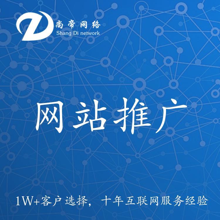 全网网站建设 网站制作和推广 尚帝网络