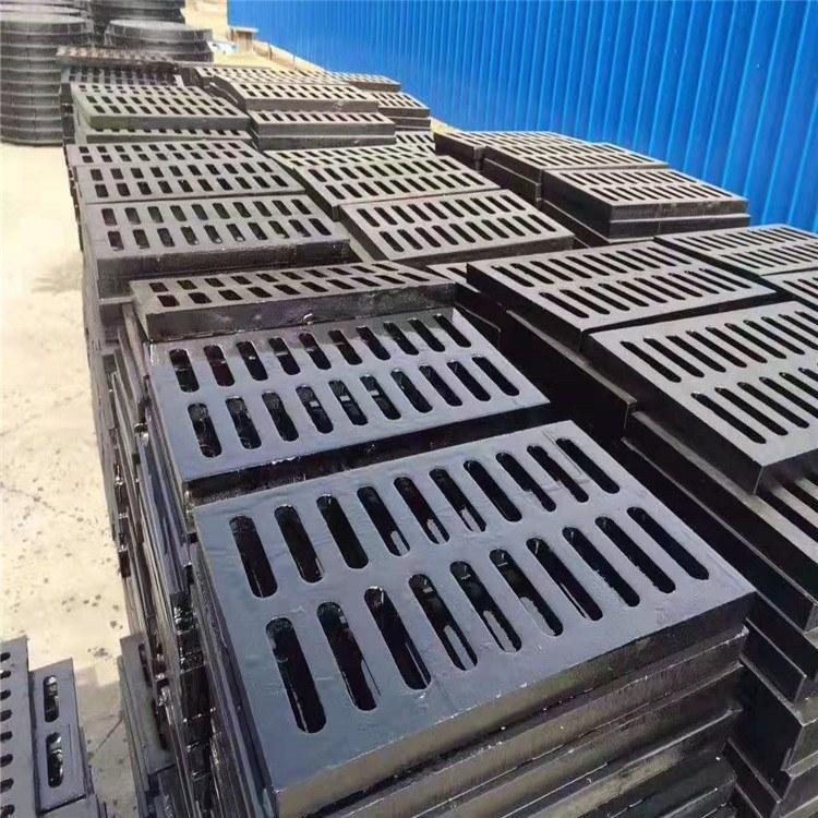 聊城铸造厂 球墨铸铁篦子铸造厂家 排水沟球墨铸铁篦子盖板