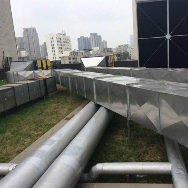厂家加工定做除尘排烟镀锌通风管道 螺旋风管 白铁皮风管镀锌风管