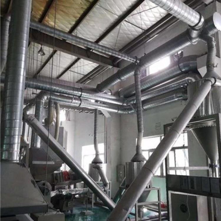 厂家供应 耐高温不锈钢通风管道 消防排烟排气管304除尘通风烟道