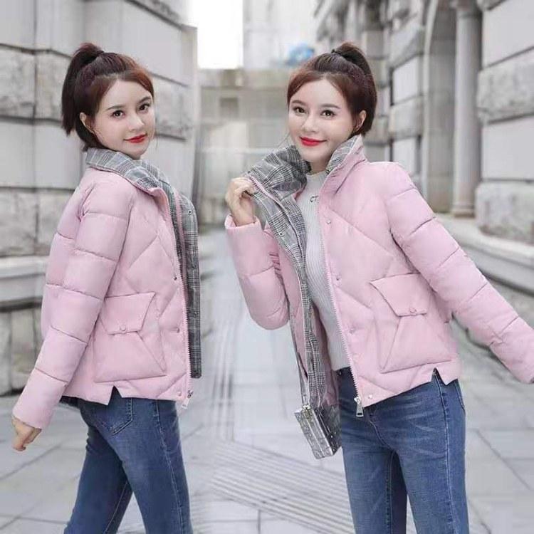 2019新款棉衣韩版修身中长款棉服女装加厚冬季外套棉袄棉服女装批发