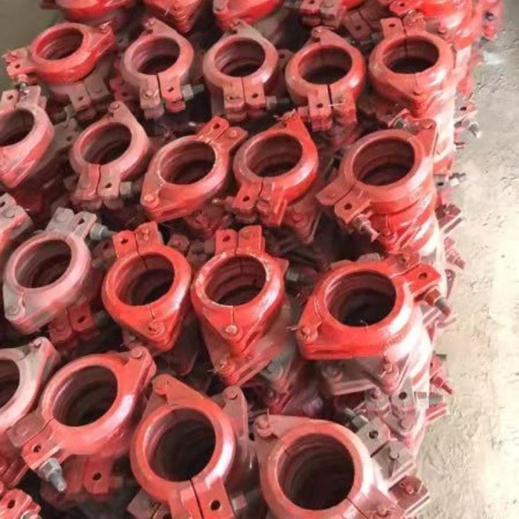 华硕厂家80管卡-加重管卡-细石泵卡厂家直销