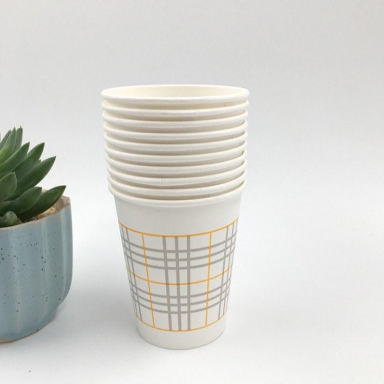 江苏淮安纸杯定做- [幸福花]纸杯一次性杯子纸杯水杯商用纸杯定做2000只装家用