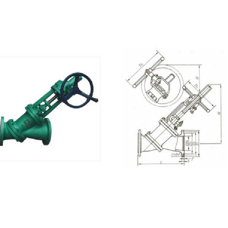 专业制造气动放料阀 防腐放料阀 BFL41W保温放料阀