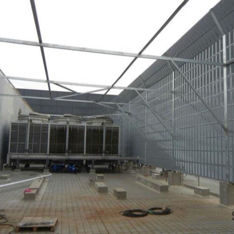 河南水泵机组声屏障 A郑州发动机隔音屏A 冷却塔空调风机百叶声屏障
