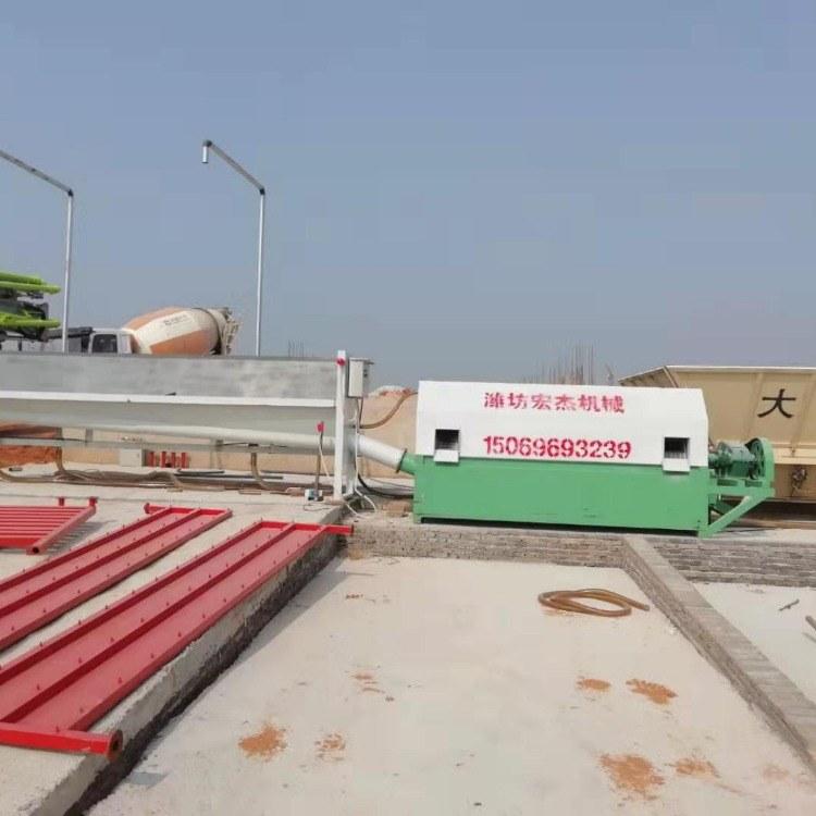 搅拌站砂石分离机配件 混凝土沙石分离机设备