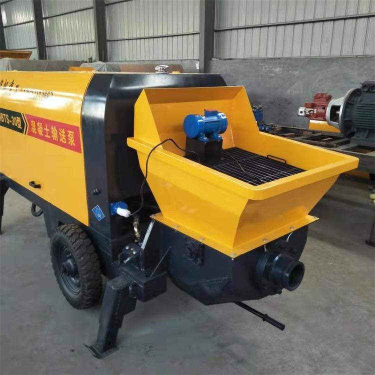大骨料混凝土泵车 高压细石混凝土输送泵 二次构造柱泵