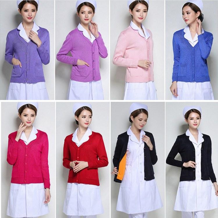 南丁格尔韩版修身款护士毛衣毛衫 女2019开衫羊毛衣