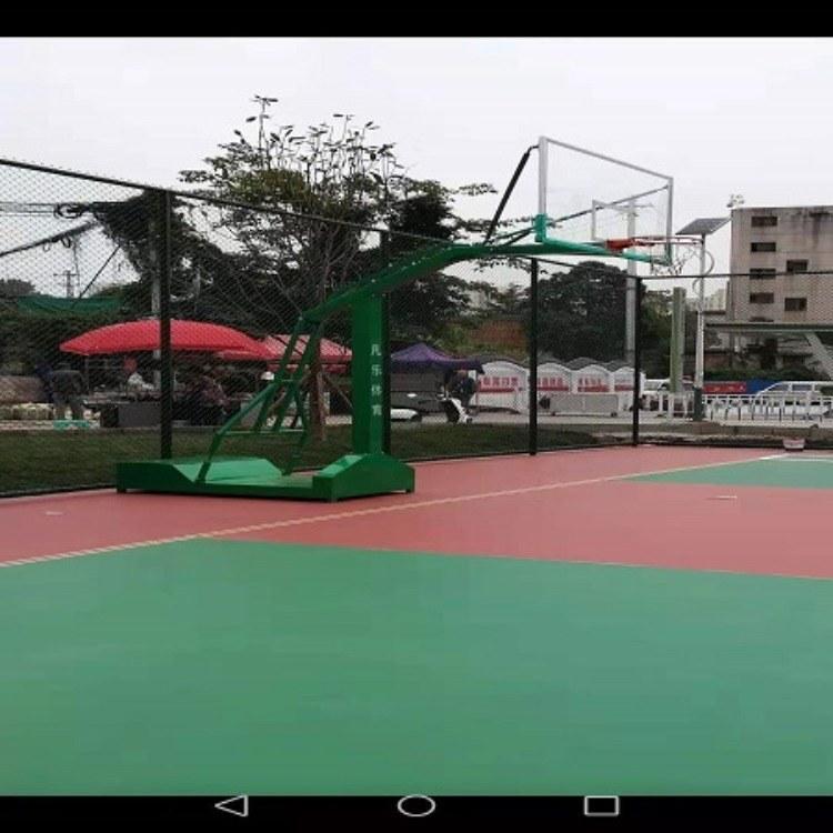 贵州贵阳篮球场 场地制作施工,室外室内篮球场施工尽在贵州凡乐体育