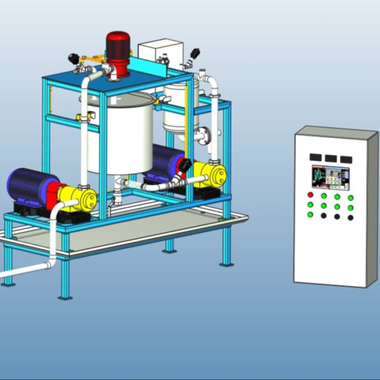南菱工控NLGK-系列打包前專用糖蜜連續式比例添加噴涂系統設備供應銷售