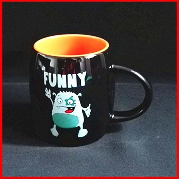 镁制强化瓷杯子 创意广告促销加印logo实用马克杯 供应陶瓷杯咖啡杯 支持定制