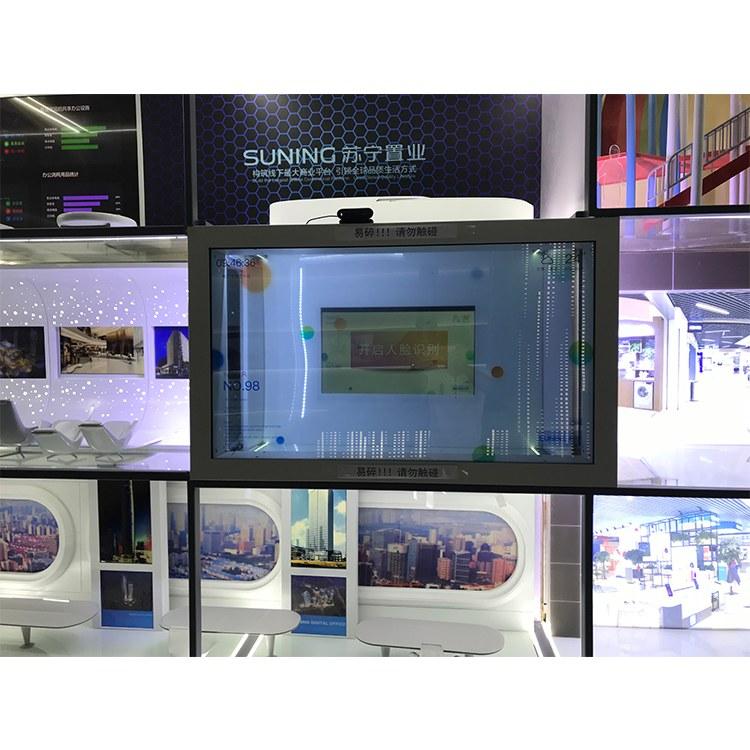 长期供应智能显示屏 透明液晶屏 透明拼接显示屏