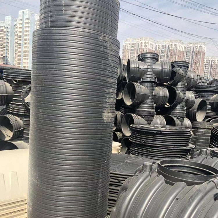 安徽中空壁缠绕管定制厂家 热销Hdpe中空壁缠绕管