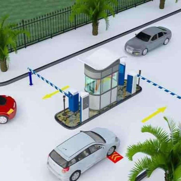 宁波无人值守停车场系统设备