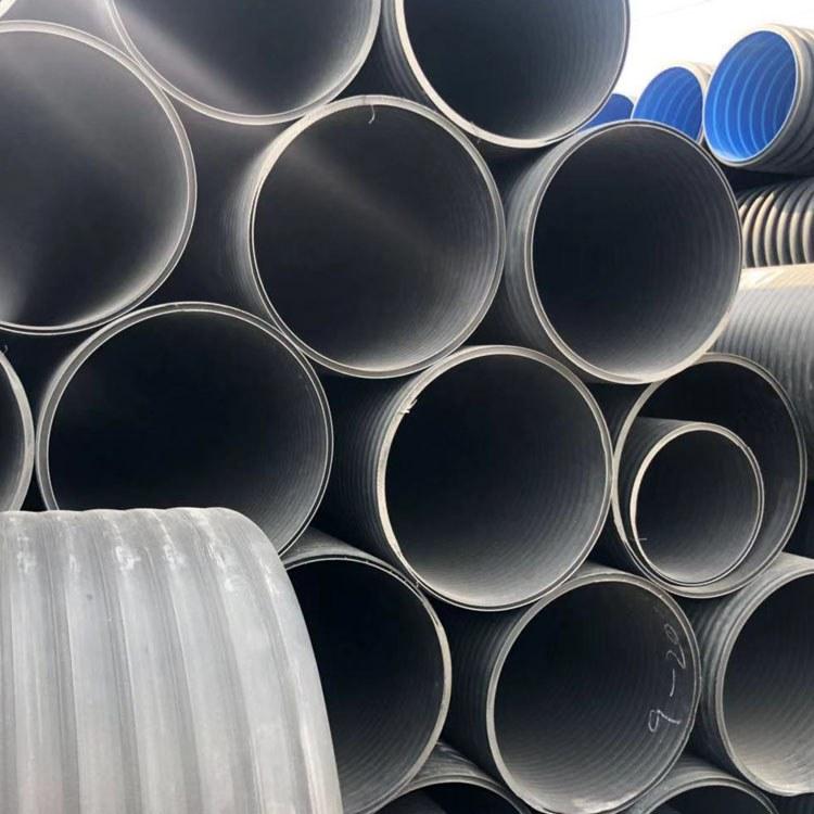 合肥中空壁缠绕管价格 热销Hdpe中空壁缠绕管