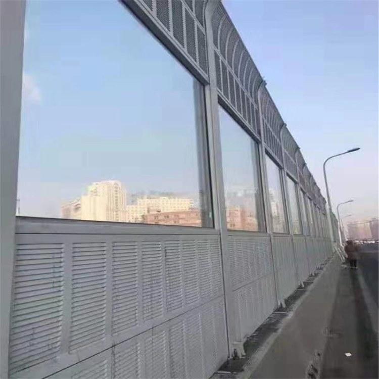 安平 小区声屏障 隔音墙 冷却塔声屏障 翎昌定制厂家