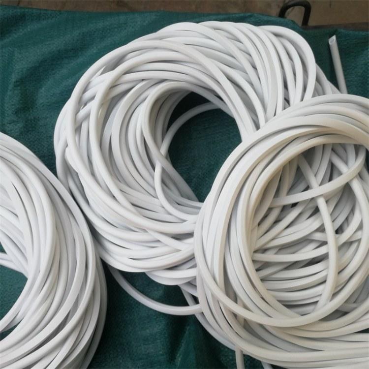 硅胶发泡密封条 硅胶条 硅胶棒 耐腐蚀三元乙丙胶条 化工厂密封胶条 橡胶条