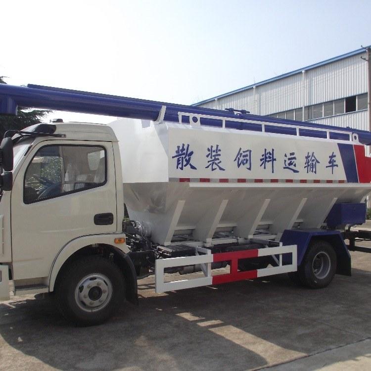 新希望东风天锦饲料车 猪场 饲料车运输机械设备 运输车