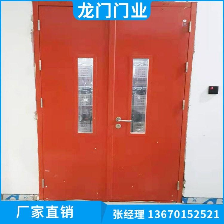 深圳防火门厂家 现货直销丙级门 水晶门 水晶折叠门 龙门门业价格从优
