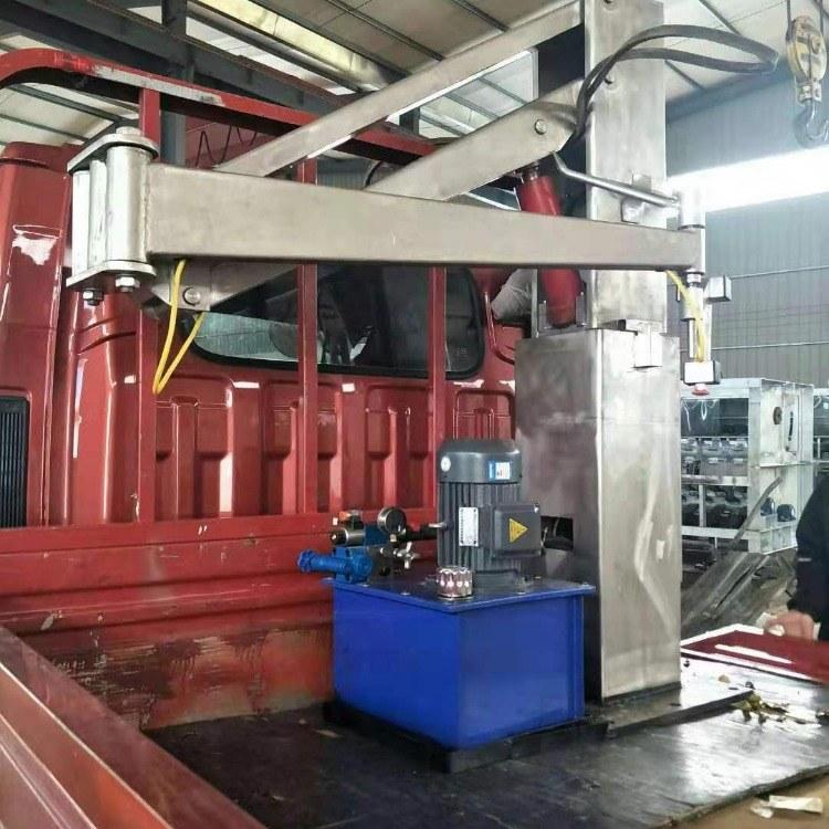 厂家直销装卸机械臂 液压机械手 屠宰流水线专用省时省力 图和机械