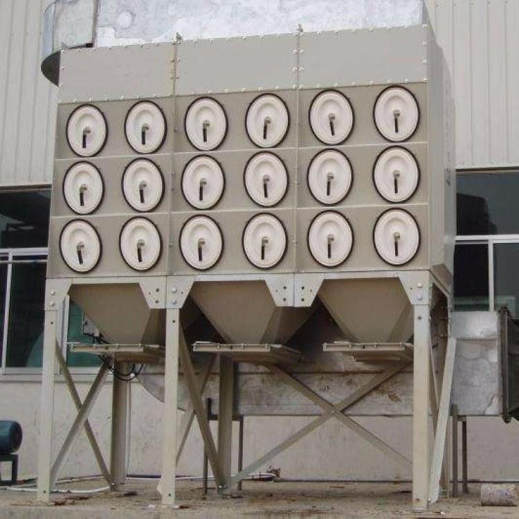 木工厂大型中央仓顶除尘设备家具厂-木工工业滤筒除尘器-脉冲布袋收尘器厂家直销