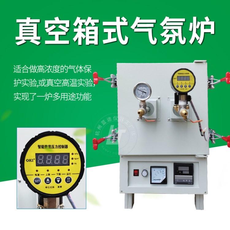 杭州蓝途仪器 真空箱式炉 通气体高温热处理防氧化防脱碳防渗碳