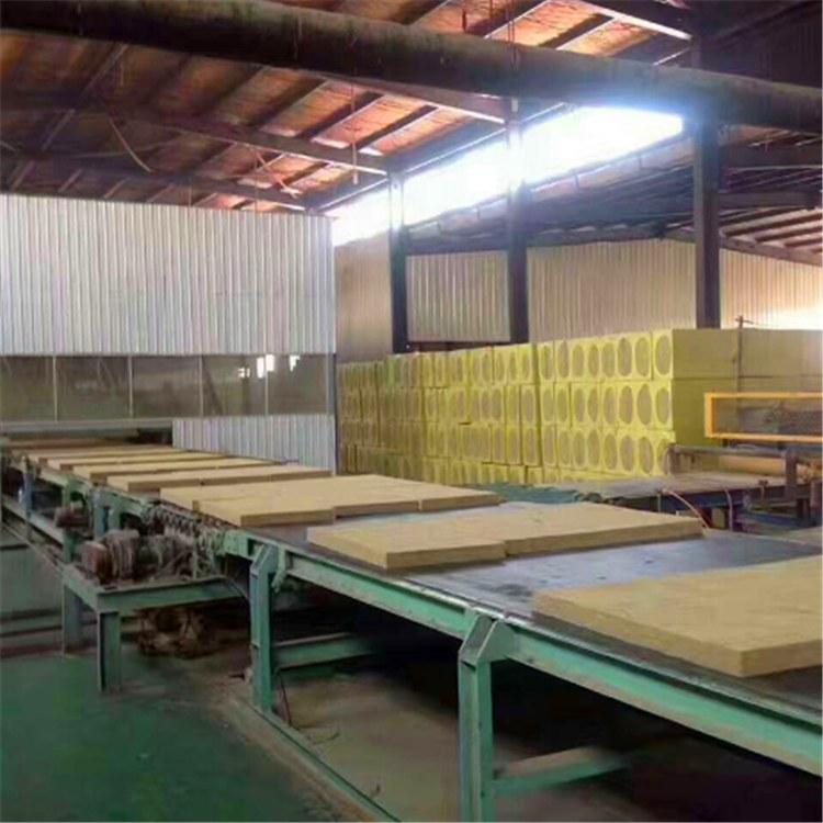 广东佛山岩棉板批发 国标高密度岩棉保温板 福龙建材全国发货