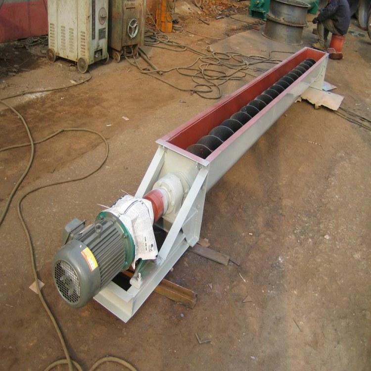 水泥厂移动式不锈钢螺旋上料机 干粉螺旋输送设备 WLS型无轴螺旋输送机设备