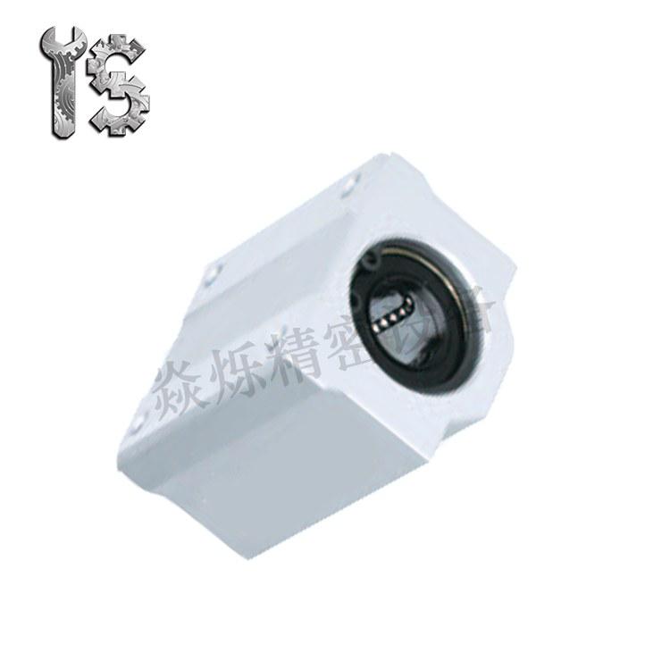 加宽方型单衬/中型 直线轴承固定座组件LHBB 米思米同款型号 源头厂家现货直销