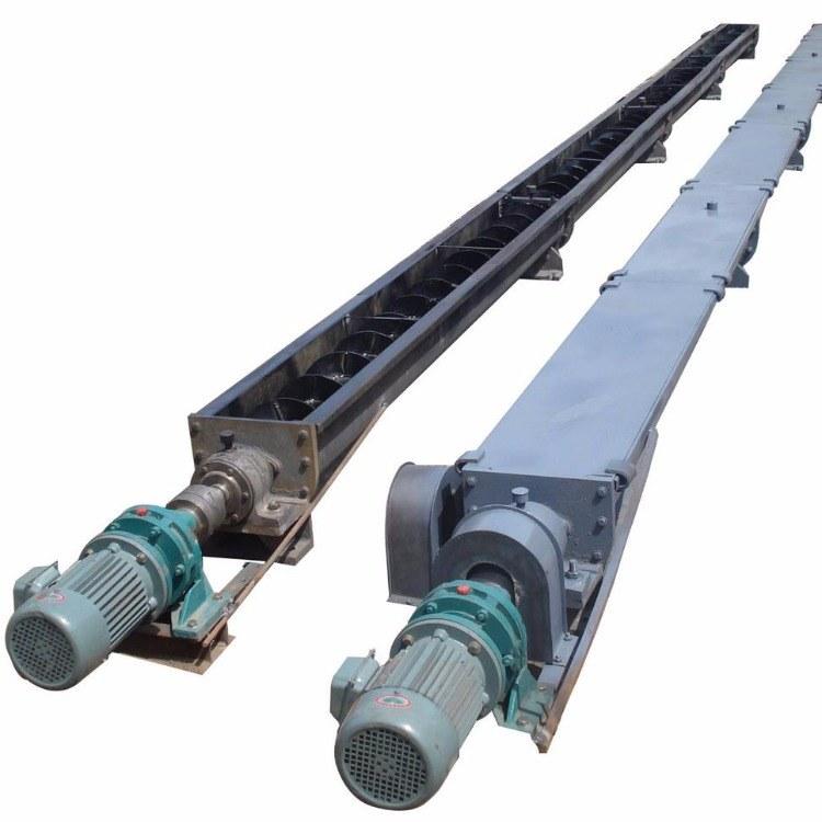 蛟龙螺旋输送机 u型槽式螺旋输送机 管式上料机 除尘配件 WLS型无轴输送设备