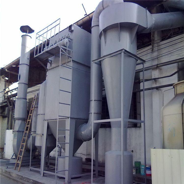 工业粉尘收集器高效立式多管旋风除尘器 XD-型陶瓷多管旋风除尘器