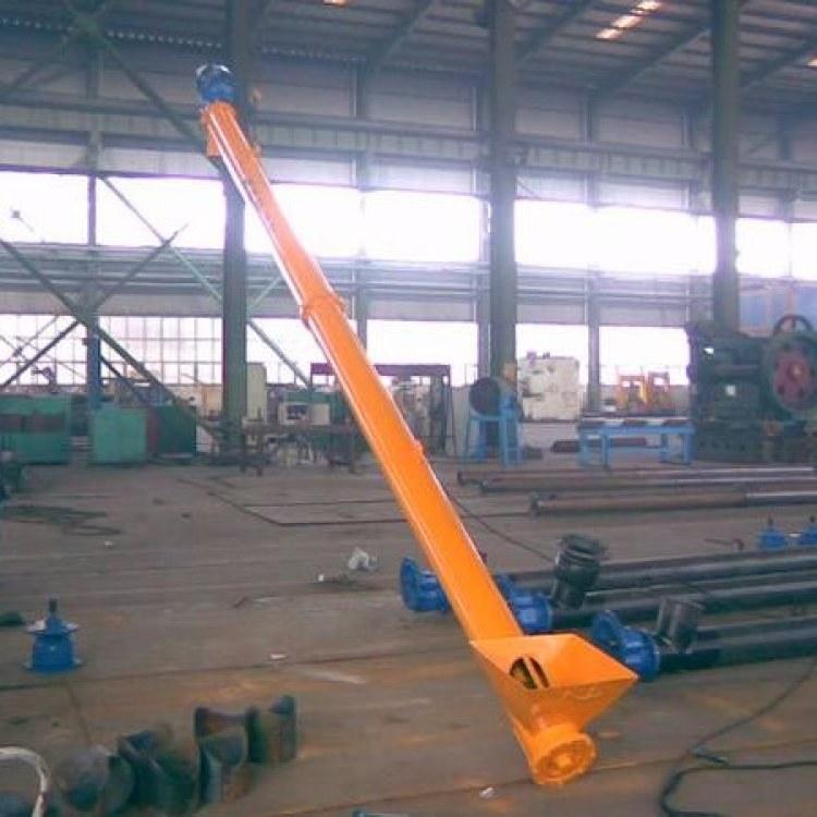 耐磨衬板无轴螺旋输送机 污泥 水泥厂 塑料颗粒 细粉 石子 钻井泥浆 U型 管式 绞龙螺旋输送机
