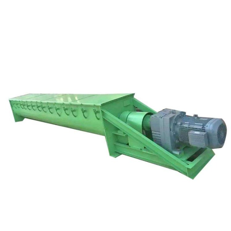 不锈钢U型蛟龙机螺旋送料机 混泥土 煤灰上料机 铝屑粉末输送量大LS200螺旋输送机