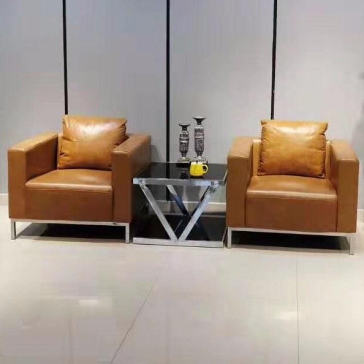 南京办公沙发 南京贡广家具专业生产皮质沙发价格优惠定做