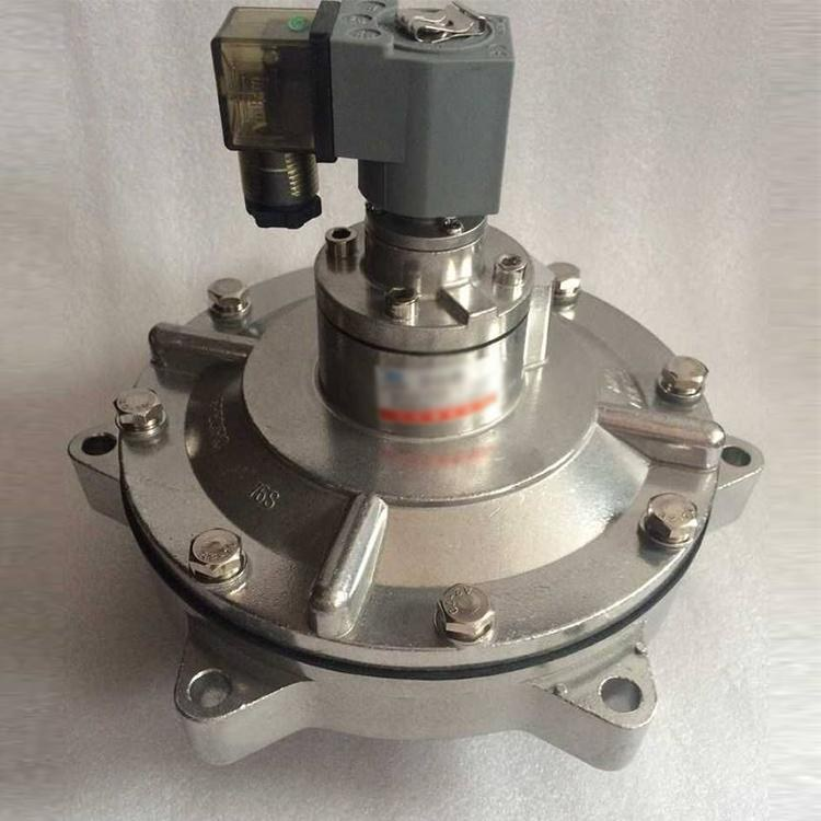 DMF-ZM-25S电磁脉冲阀 速连式 淹没式2.5寸 直角带螺母式脉冲阀