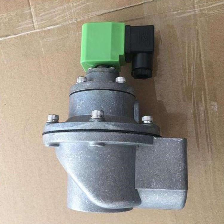 DFM-Z-DN20铝合金丝扣空气电磁脉冲阀 脉冲除尘器直角DMF-Z-25型1寸DC24V 气动阀