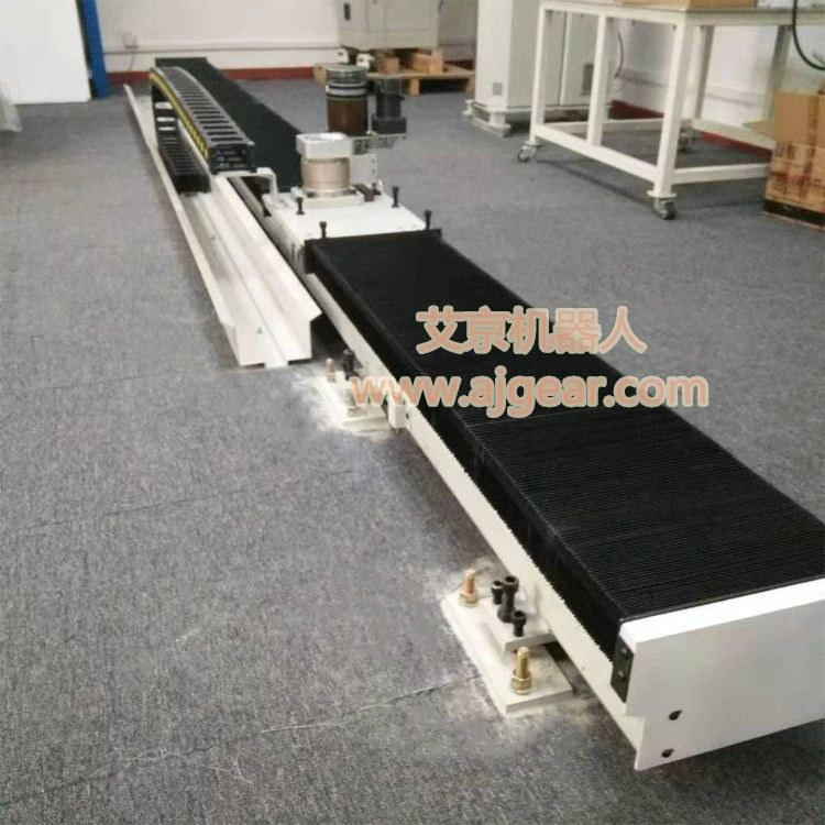 东莞市艾京机械有限公司机器人第七轴地轨行走轴地面式
