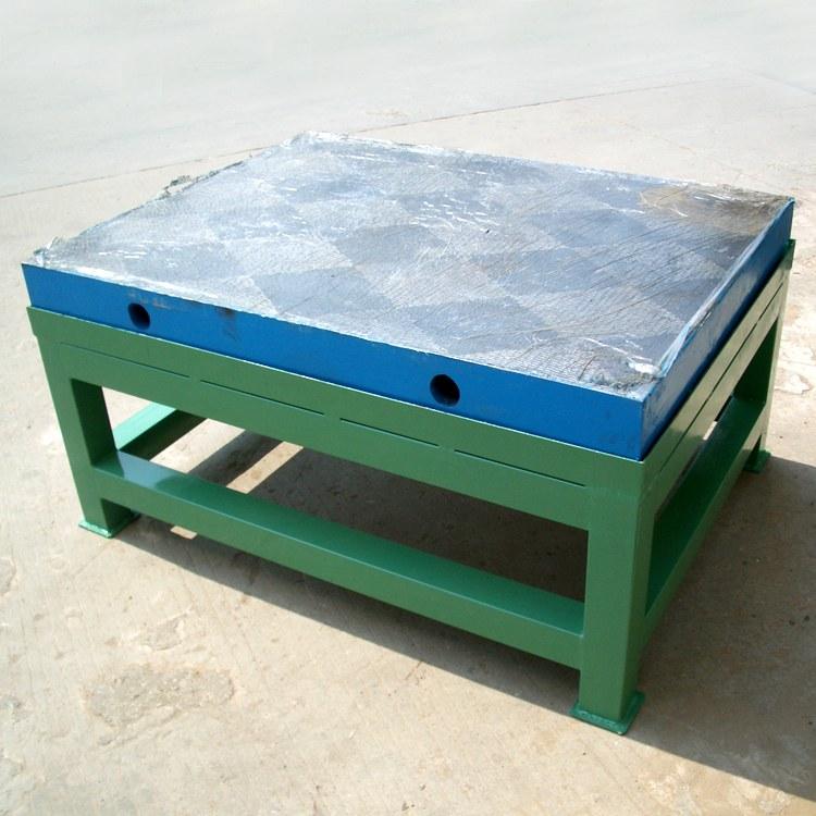 康恒铸铁检验桌 划线平台 测量台试验工作台 检验平台 高精度铸铁平板 生产厂家直销 人工铲刮工艺