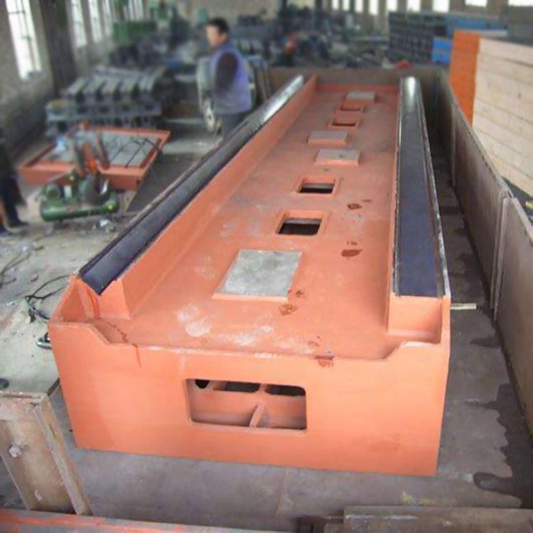 球铁铸钢箱体机械模具铸造 机床铸件工作台 康恒机床铸件 床身横梁立柱 生产厂家直销
