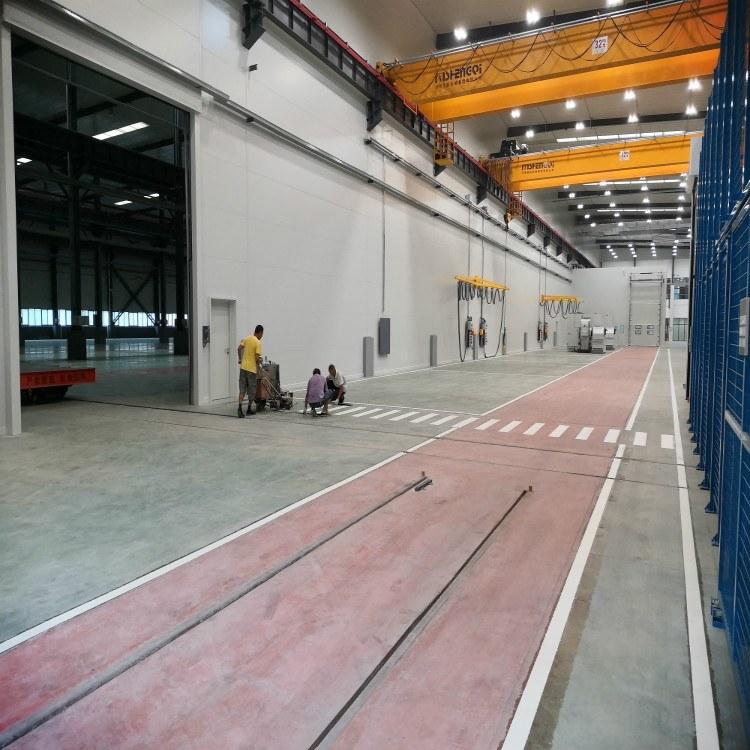 厂区道路划线 朝中建筑 厂区道路划线 专业策划