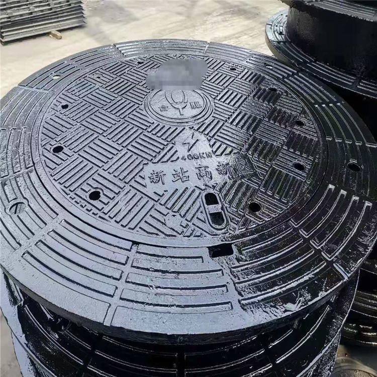 球墨铸铁检查井盖 800加重型球墨铸铁井盖