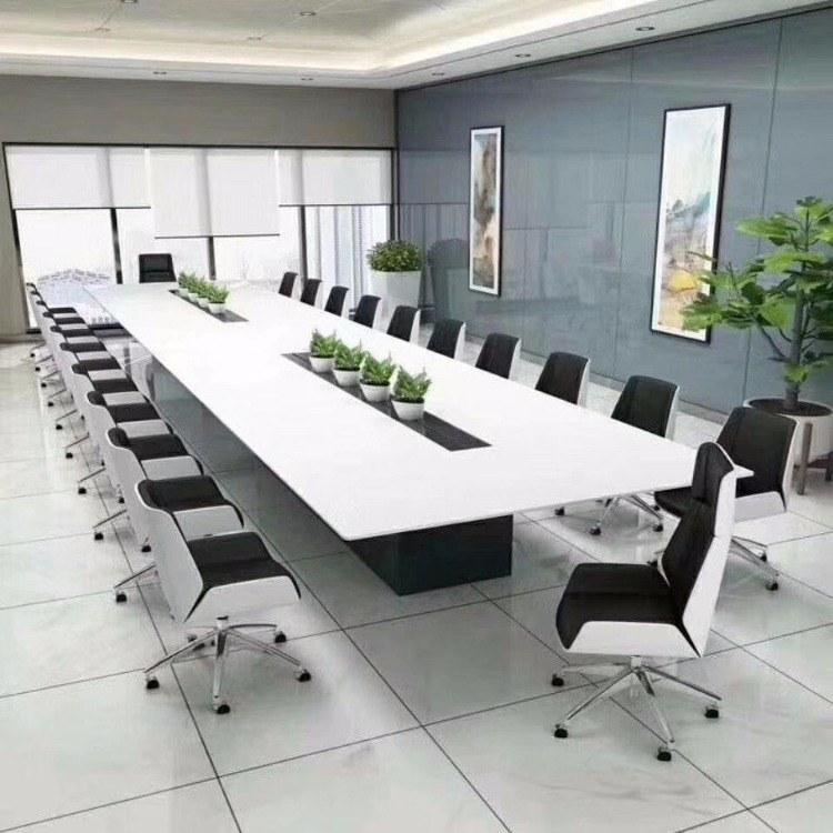 南京会议桌定制价格 实木会议桌办公家具厂家 南京贡广家具