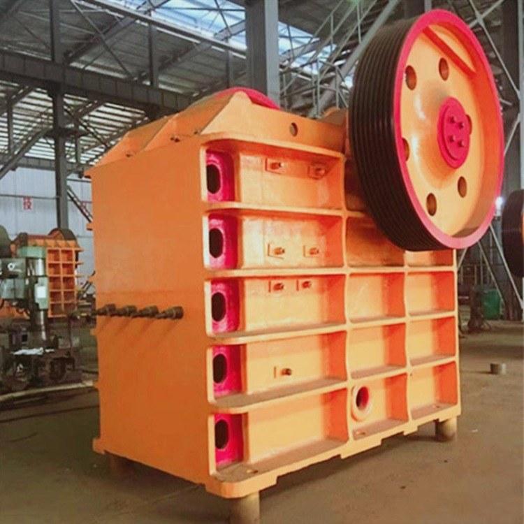 采德供应69鄂式破碎机简易移动砂石生产线时产500吨石料生产线