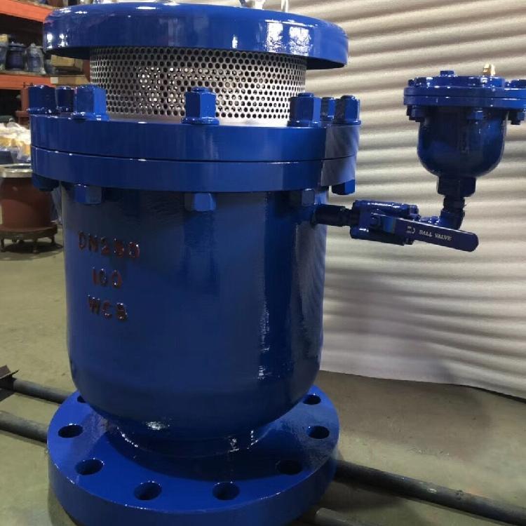 轩诚阀门厂专业生产  SCAR污水复合式排气阀  污水复合式排气阀 真空破坏阀