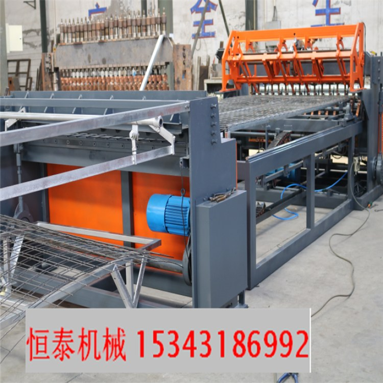 恒泰机械新型墙板用设备排焊机好的铁路用网焊网机楼层建筑专用网焊网机围栏网设备