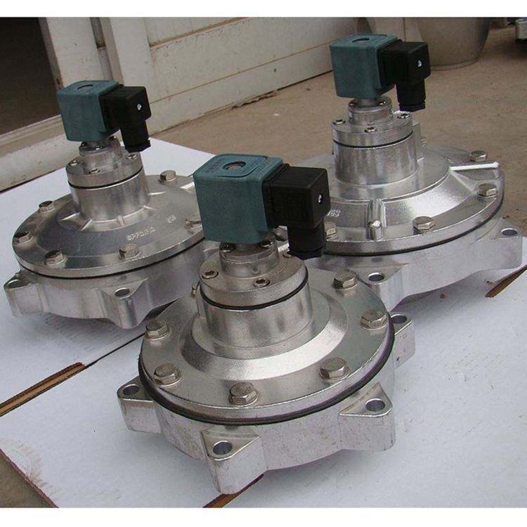 速连式电磁脉冲阀 电磁阀淹没式2.5寸 直角带螺母式脉冲阀 除尘配件