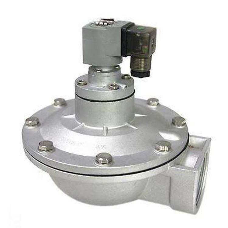 工业除尘器专用直角式清灰喷吹式脉冲阀 DMF-T-70 淹没式电磁脉冲阀 喷吹电磁阀