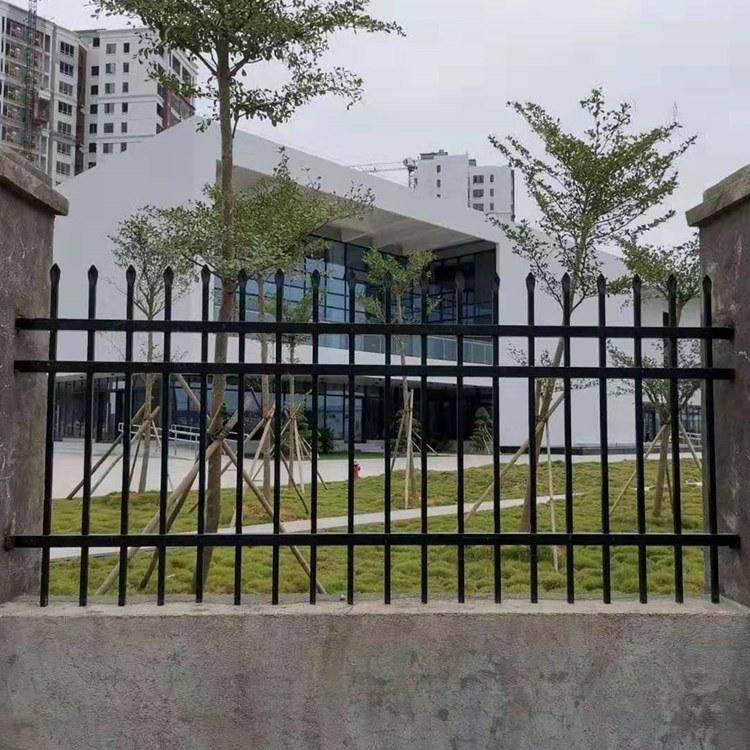 辰溪草坪护栏-锌钢草坪围栏-仿竹栏杆-绿化护栏生产厂家