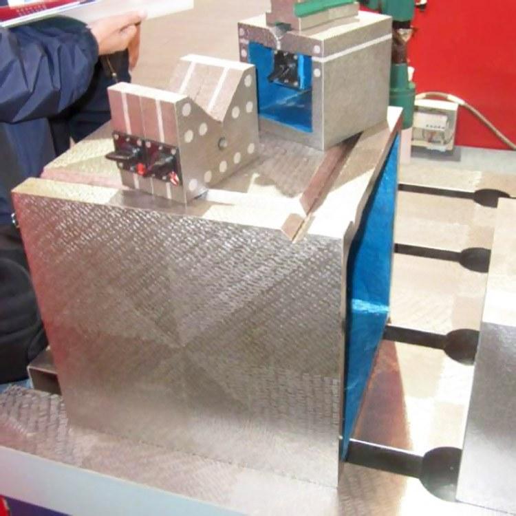 固定方箱 磁性方箱 康恒厂家生产销售工艺精良 铸铁方箱 可来图定制