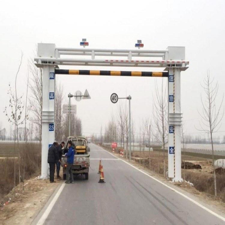 匝道限高液压升降防撞护栏批发安装